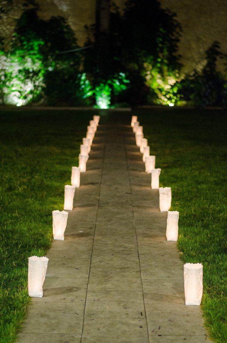 La boda de ayc wedding planner asturias for Boda en un jardin de noche