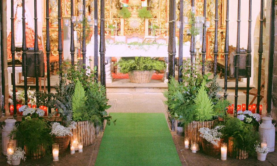 Decoración y Coordinación de Ceremonias Religiosas