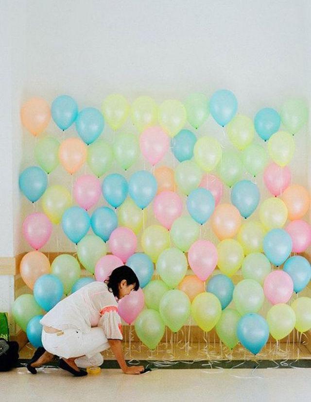 Cómo decorar vuestra boda con globos