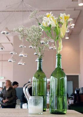 Botellas Decoradas Flores