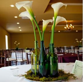 Diy centro de mesa low cost wedding planner asturias for Hacer mesa de centro facil