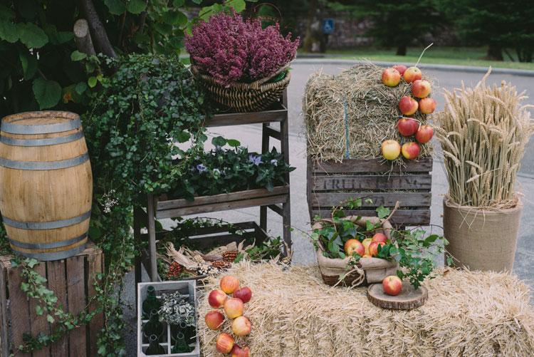 Boda de noelia germ n wedding planner asturias for Decoracion oviedo