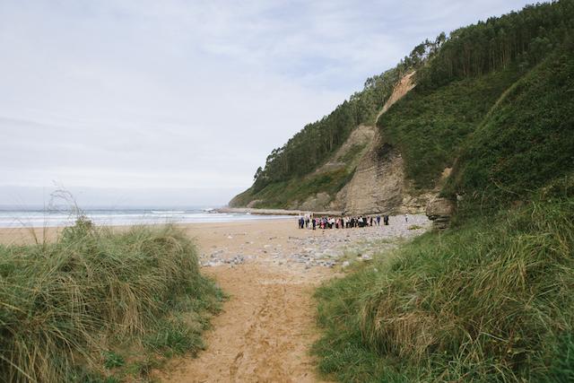 La boda de Alma & Rufino en la playa