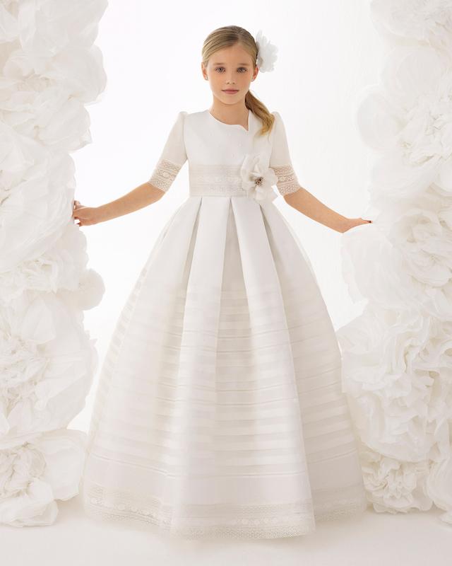 Los vestidos de comunión de Rosa Clará 2018