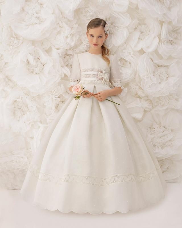 Los Vestidos De Comunión De Rosa Clará 2018 Wedding