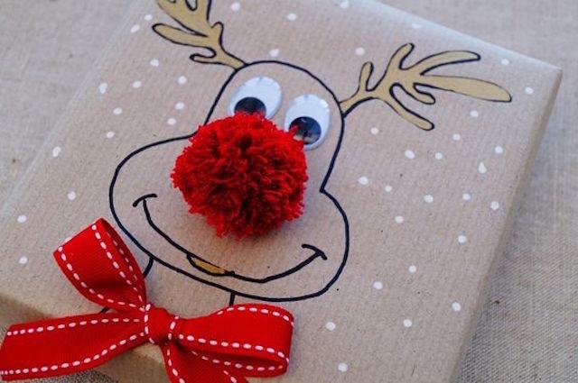 DIY: Envolver regalos de navidad